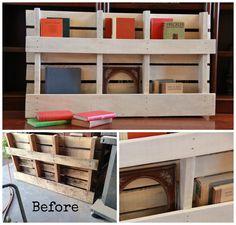 Double Pallet Shelf   ** Follow all of our boards** http://www.pinterest.com/bound4burlingam/