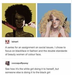Society is the worse don't let society change you or change your views you are beautiful the way you are and don't let anyone tell you otherwise Intersectional Feminism, Anti Racism, Equal Rights, Faith In Humanity, Social Issues, Social Justice, Human Rights, Memes, In This World