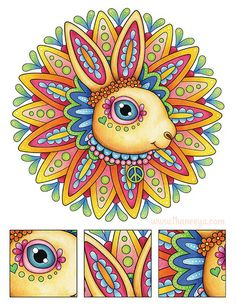 hippie animals coloring book 229 best coloring books by thaneeya images on pinterest