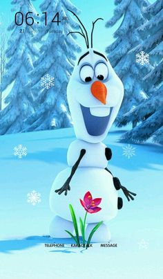 Olaf from Frozen, the new animated feature from Walt Disney Animation Studios (in theaters November Disney Frozen Olaf, Frozen Snow, Frozen Movie, Disney Love, Disney Magic, Disney Art, Anna Disney, Iphone 6 Plus Wallpaper, Disney Wallpaper
