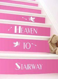 TrapSticker Stairway to Heaven door 101woonstickers.nl