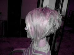 a line bob haircut pictures back view | Style them FaBuLoUs!: Stacked/spiked a-sym a-line