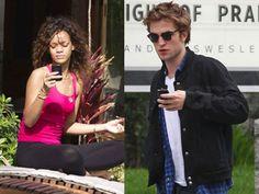 Ci pensa Rihanna a consolare il vampiro Robert Pattinson?