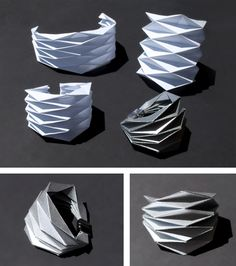 Inspired by the book Folding Techniques For Designers , I started folding a bunch of these and decided to turn one of them into ...