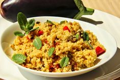 Fried Rice, Quinoa, Fries, Couscous, Ethnic Recipes, Food, Bulgur, Red Peppers, Essen