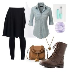 """""""Autumn look #1"""" created in polyvore"""