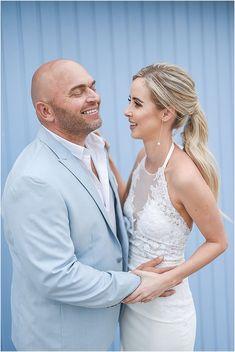 Eugene & Anna-Marie se Gelukkie strand troue Wedding Bride, Wedding Blog, Wedding Dresses, South African Weddings, Real Weddings, Bridesmaids, Anna, Bouquet, Lace