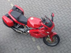 Ducati ST4s. A sport tour bike with a powerful engine of 996 superbike which won 3 world championships.
