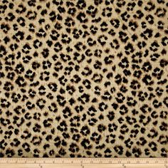 Jaclyn Smith Animal Print Blend Leopard from @fabricdotcom  Screen printed on a linen/rayon blend this medium/heavyweight fabric is very versatile and perfect for window treatments (draperies, valances, curtains, and swags), pillow shams, duvet covers, toss pillows and upholstery. Colors include black and tan.