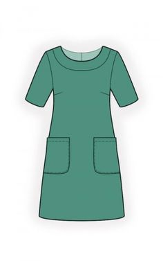 Simple Dress - Sewing Pattern #4517 More