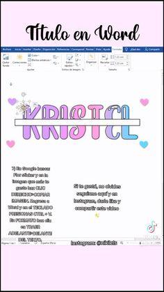 Sígueme para más contenido @Niki Lels @TikTok Bullet Journal Notes, Bullet Journal Lettering Ideas, Bullet Journal School, Bullet Journal Ideas Pages, Life Hacks For School, School Study Tips, Class Notes, School Notes, Point Words