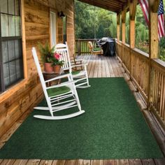 Amazon.com: Indoor/Outdoor Carpet With Rubber Marine Backing   Green 6u0027