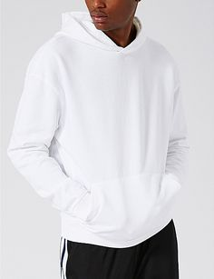TOPMAN Nico cotton-jersey hoody