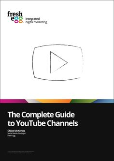 The complete guide to YouTube channels.   YouTube is the second largest search engine in the world, with over a billion unique visitors every month not counting the additional traffic it garners from featured videos appearing in Google Universal Search.   This guide shows you how to optimise your YouTube channels, promote your videos and measure your YouTube performance. Download the guide here: http://fre.gg/1GvA1mc