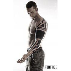 Blackwork Cover Up Tattoo Sleeve for Men