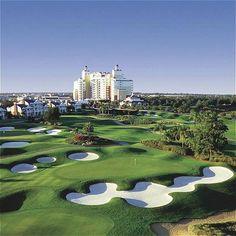 Orlando golf Waldorf Astoria. Amazing