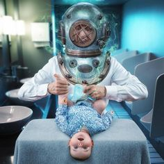 John Wilhelm---Father Makes Magical Photos Manipulations With His Daughters
