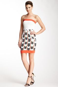 Strapless Bandage Dress by Wow Couture on @HauteLook