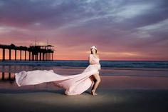 Sunset Maternity Session | Mia Bambina Photography