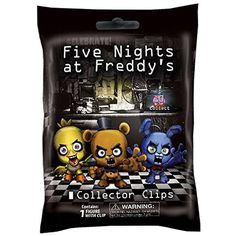 """Amazon.com: FNAF Officially Licensed Five Nights At Freddy's 3"""" Figure Hangers Toy Blind Pack """"1 Random Style"""": Toys & Games"""