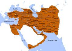 Sassanid Empire - The World of Arabian Nights Portuguese Empire, Bible Study Materials, Sassanid, Sea Of Japan, Alternate History, American War, Historical Maps, Albania, Cartography