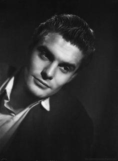 Louis Jourdan by Studio Harcourt, in Paris, 1943.