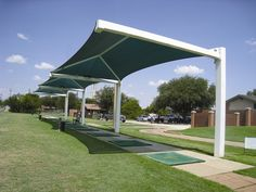 Driving Range Shade Structure
