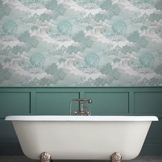 Feature Wall Toile Trail Cafe Diner Wallpaper Arthouse Options 2 Wallpaper