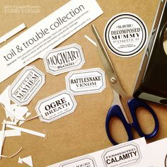 FREE Apothecary Jar Labels