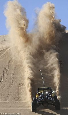 The Glamis, California desert plays host to the celebration which sees dune buggies, bikes and trucks shoot across the sand of the Algodones Dunes. Off Road Truck Racing, Buggy Racing, Road Race Car, Pajero Off Road, Quad, Go Kart Buggy, Bike Magazine, Sand Rail, Pismo Beach