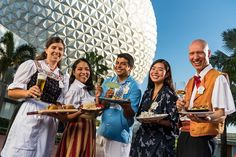 Walt Disney World Releases Menus for 2018 Epcot International Food & Wine Festival - Disney Dining Information Disney World Restaurants, Walt Disney World, Disney Parks, Fresh Bread Crumbs, Epcot Food, Arrancar, Wine Festival, Festival 2017, Food Festival