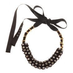 Crystal Bead-Embellished Necklace ✽ Marni ◊ mytheresa