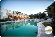 Relais la Fontanina in Ostuni, nice for a pool-side reception. Ph Youness Taouil http://www.brideinitaly.com/2013/12/alchimie-gotico.html #puglia #italy #elopement