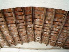 Terra cotta tile ceiling