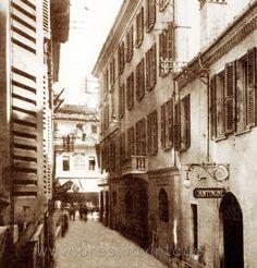 Via F. Cavallotti - Brescia http://www.bresciavintage.it/brescia-antica/foto-d-autore/via-f-cavallotti-brescia/