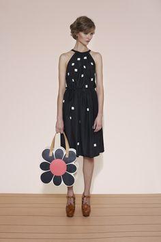 Orla Kiely spring 2015 lookbook #dress #print