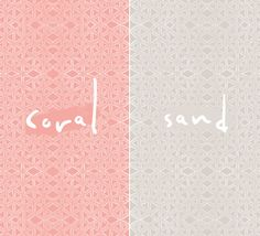 Another watercolour pattern free to download, click on Coral or Sand and save file