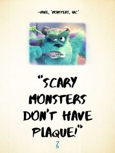 From 'Monsters University' | Pixar Movie Quotes | Toy ...