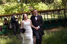 Harry Potter Theme Wedding: Bride and Groom