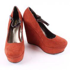 Dámské lodičky Mixer semišové oranžové Peeps, Peep Toe, Flats, Shoes, Fashion, Loafers & Slip Ons, Moda, Zapatos, Shoes Outlet