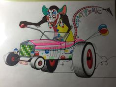Clown Rat Fink