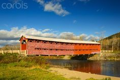 Covered Bridge, Causapscal, Quebec, Canada