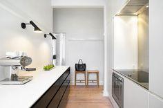 Annett Dupont and Peter Kristiansen's Apartment Kitchen, Aarhus DK // BO BEDRE