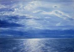 Deep Blue Sea, 2001 (oil on canvas)  Antonia Myatt