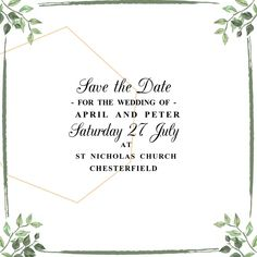 Save the Date Wedding Video Template Create Invitations, Elegant Invitations, Wedding Invitation Templates, Wedding Invitations, Invert Colors, Classic Names, Solid Color Backgrounds, Crop Photo, Promotional Flyers