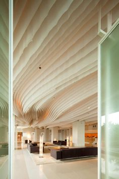 天井好きだーーー    Hilton Pattaya / Department of Architecture #interiors #design #decor #architecture #living #contemporary