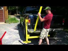 ▶ Homemade Receiver Hitch Crane - YouTube