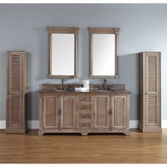 $1690 without top || James Martin 72-inch Double Bath Vanity