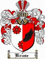 Kruse Coat of Arms / Kruse Family Crest - www.4crests.com #coatofarms #familycrest #familycrests #coatsofarms #heraldry #family #genealogy #familyreunion #names #history #medieval #codeofarms #familyshield #shield #crest #clan #badge #geneology #tattoo #ancestry