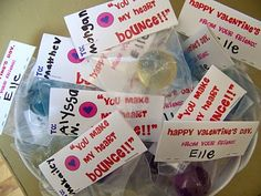 Great idea for Valentines for a class